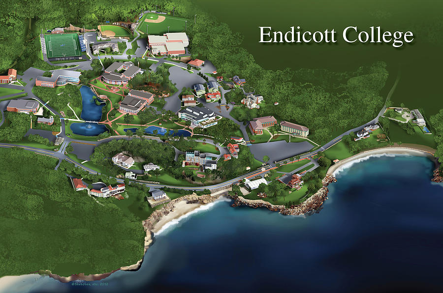 campus map app with Endicott College Rhett Erb on Naturetrail besides 4849495050 also Yes Another Amazon Building 17 Story Office Project Will Expand New Seattle C us 5th Block likewise 4993389444 also 3862.