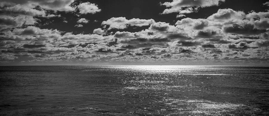 Coastal Photograph - Endless Clouds II by Jon Glaser