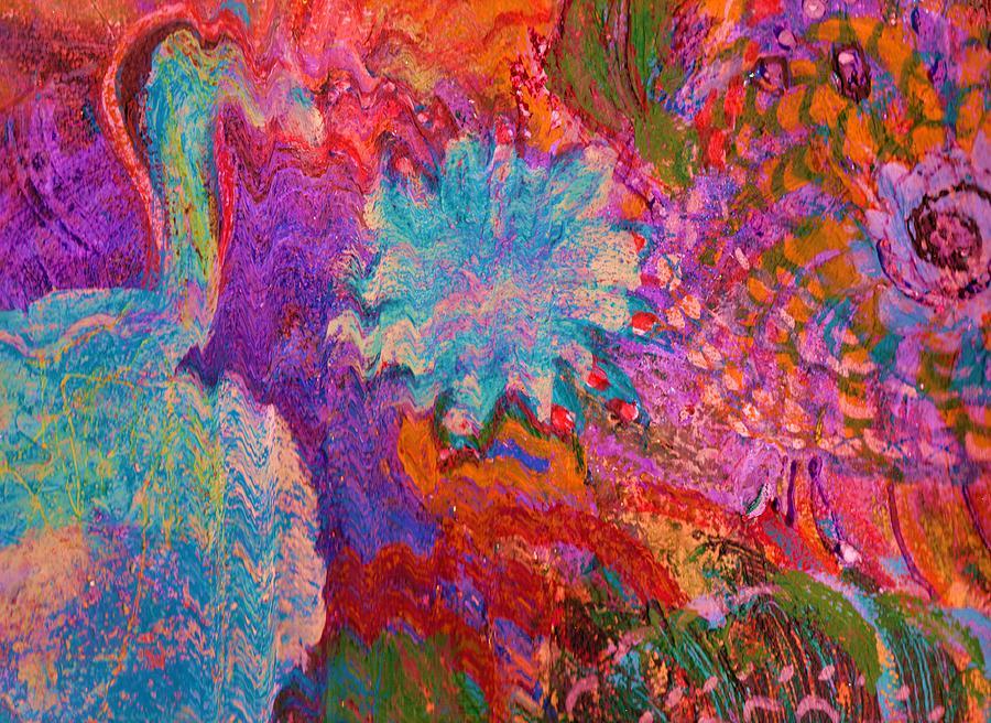 Energy Burst I Painting