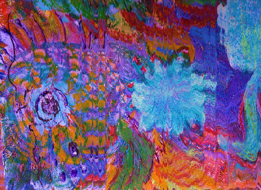 Energy Burst II Painting