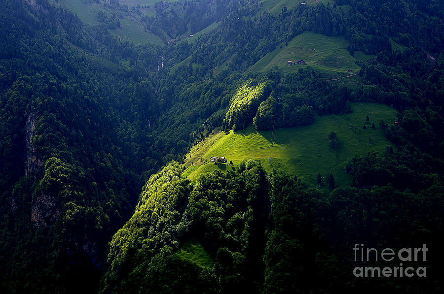 Engelberg Valley Photograph  - Engelberg Valley Fine Art Print
