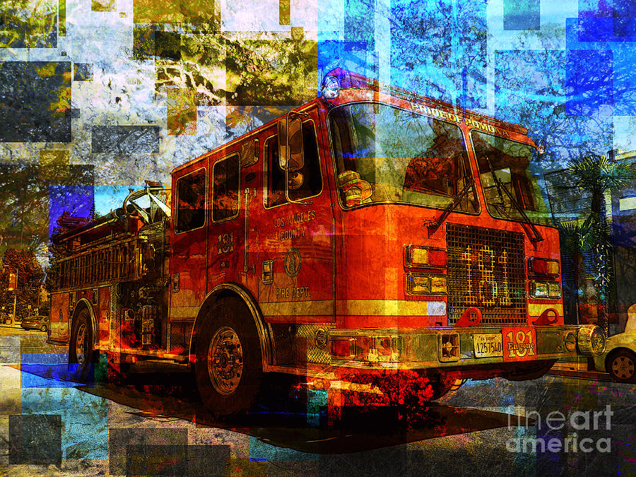 Engine Photograph - Engine 181 by Robert Ball