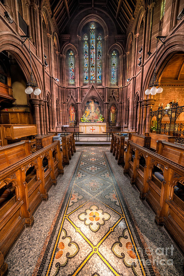 Anglican Photograph - English Church 2 by Adrian Evans