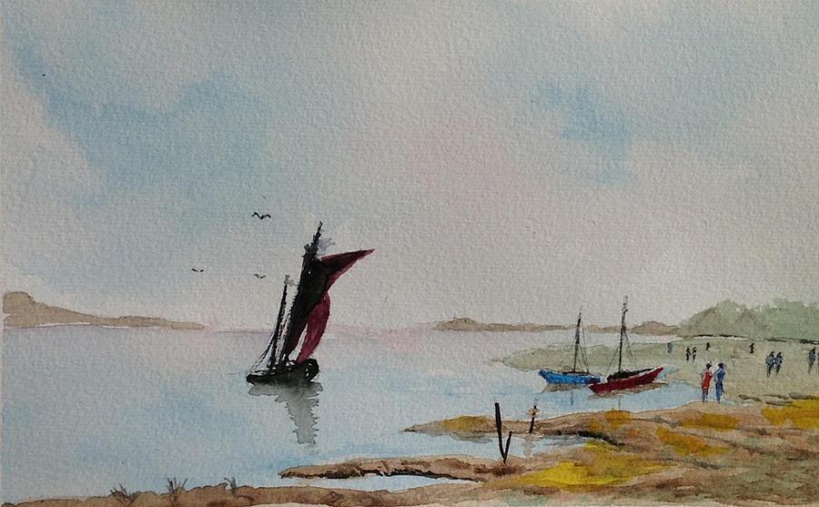 English Coast Pastel