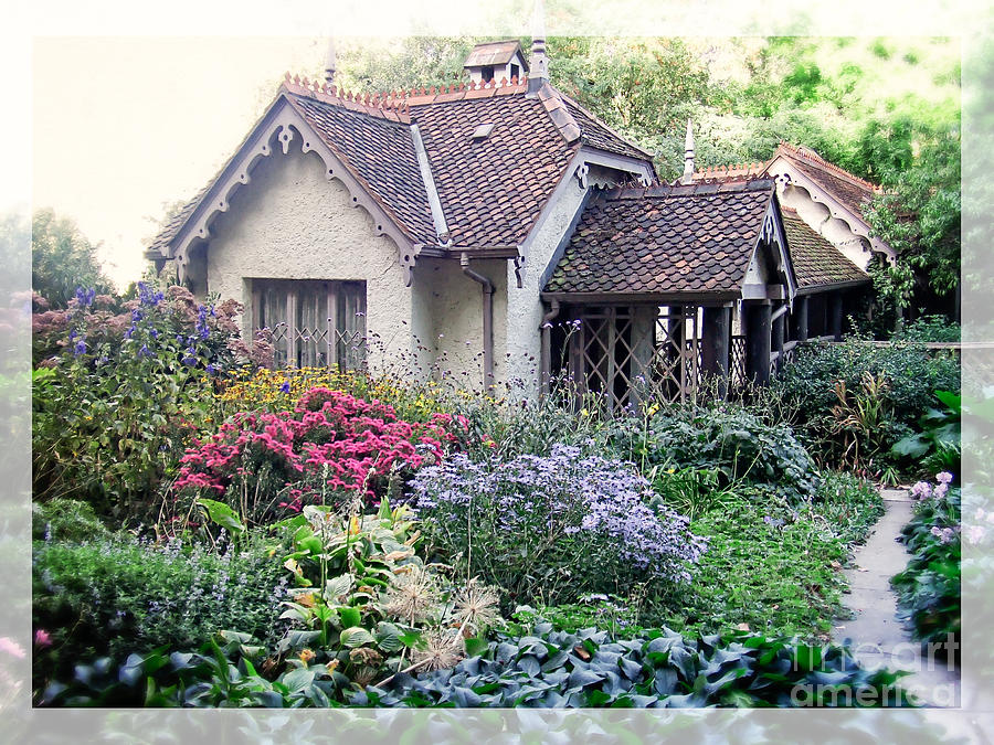 English Cottage Garden Photograph By Edward Fielding