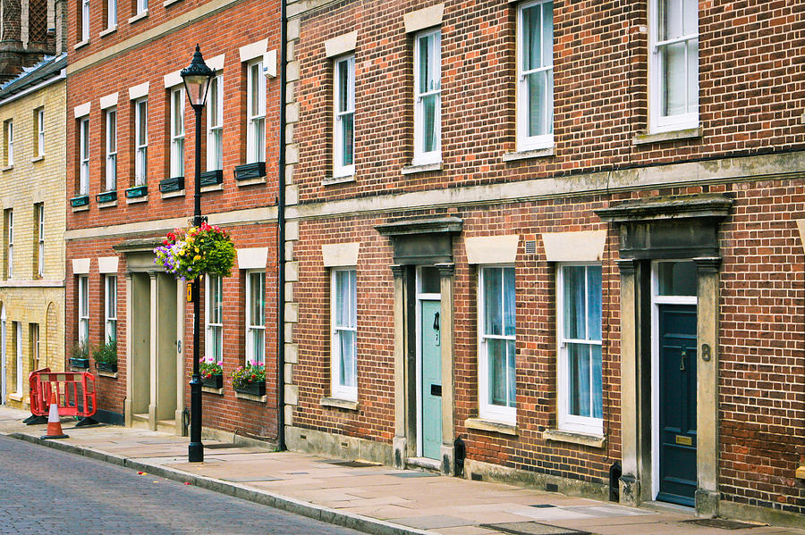 English Town Houses Photograph