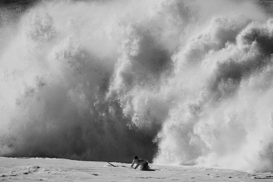 Surf Photograph - Engulfed by Sean Davey
