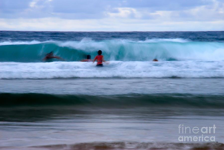 Enjoy The Ocean 2 Photograph