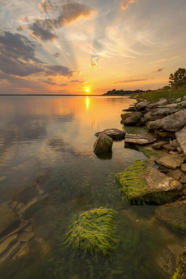 Enjoying Sunset Photograph