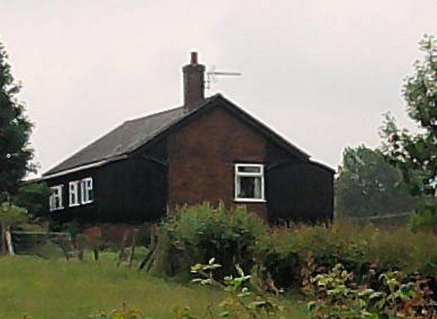 Enlarged Farmhouse Photograph