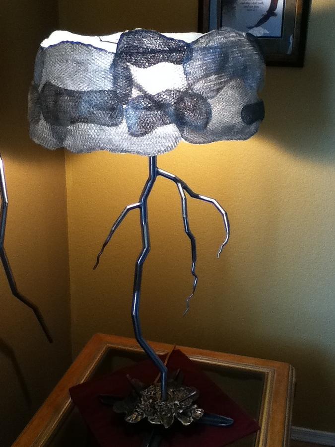 Metal Sculpture Sculpture - Enlightningment by Dan Daugherty