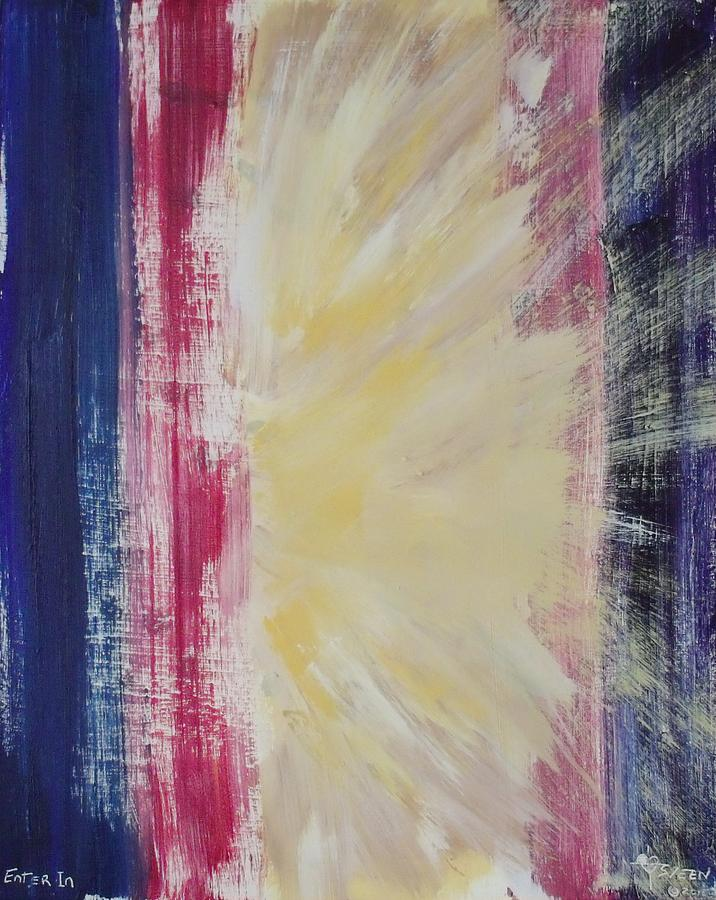 Prophetic Art Painting - Enter In II by Christine Nichols