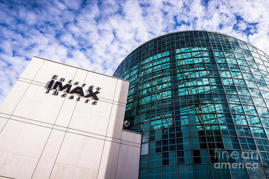 America Photograph - Entergy Imax Theatre In New Orleans by Paul Velgos