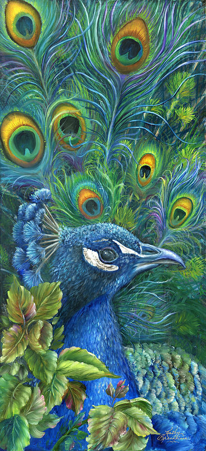 Enticing Peacock Painting