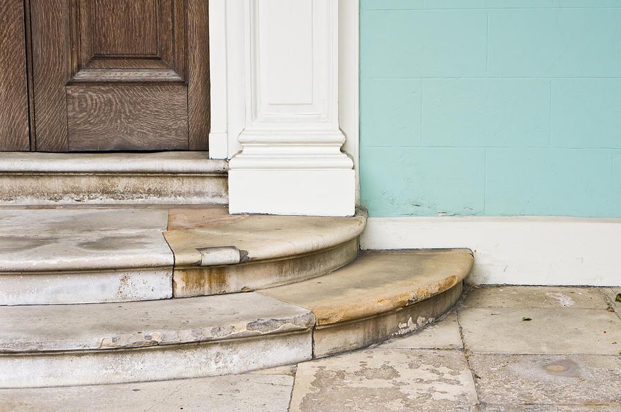 Address Photograph - Entrance Steps by Tom Gowanlock