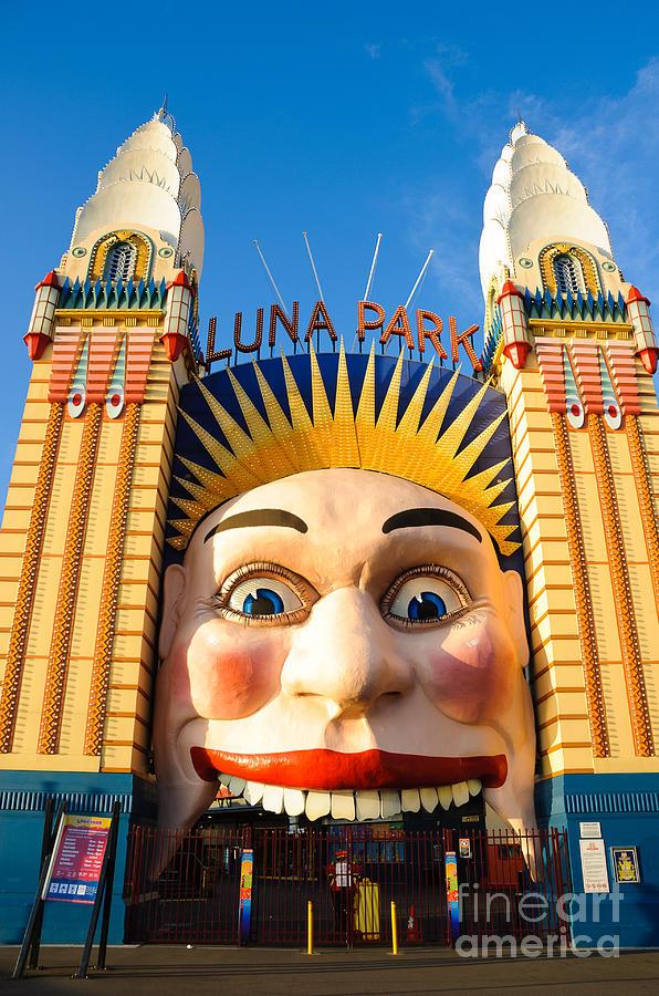 Entrance To Luna Park - Sydney - Australia Photograph