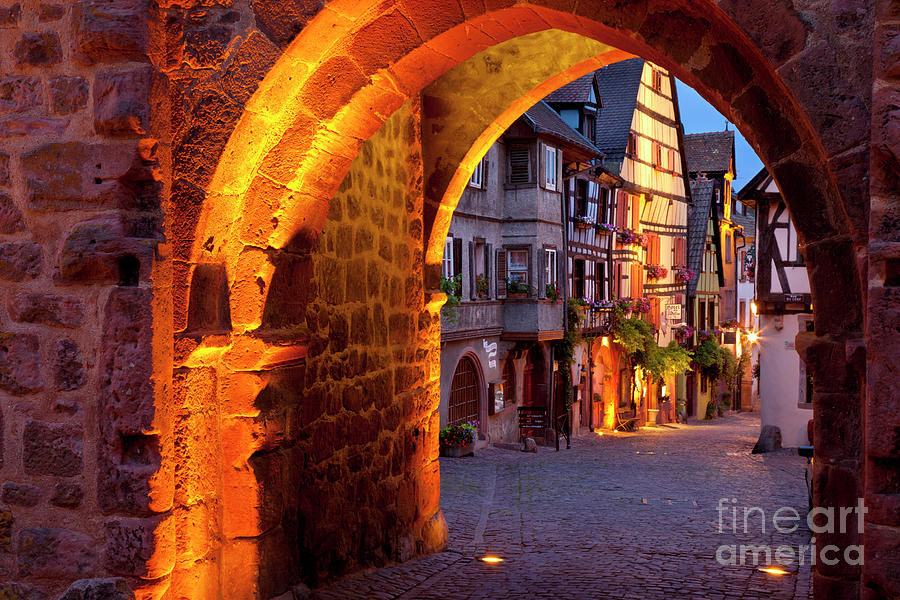Entry To Riquewihr Photograph