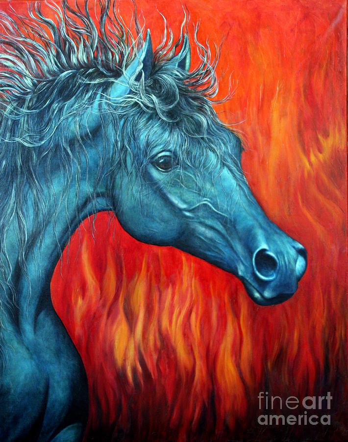 Equus Diabolus Painting