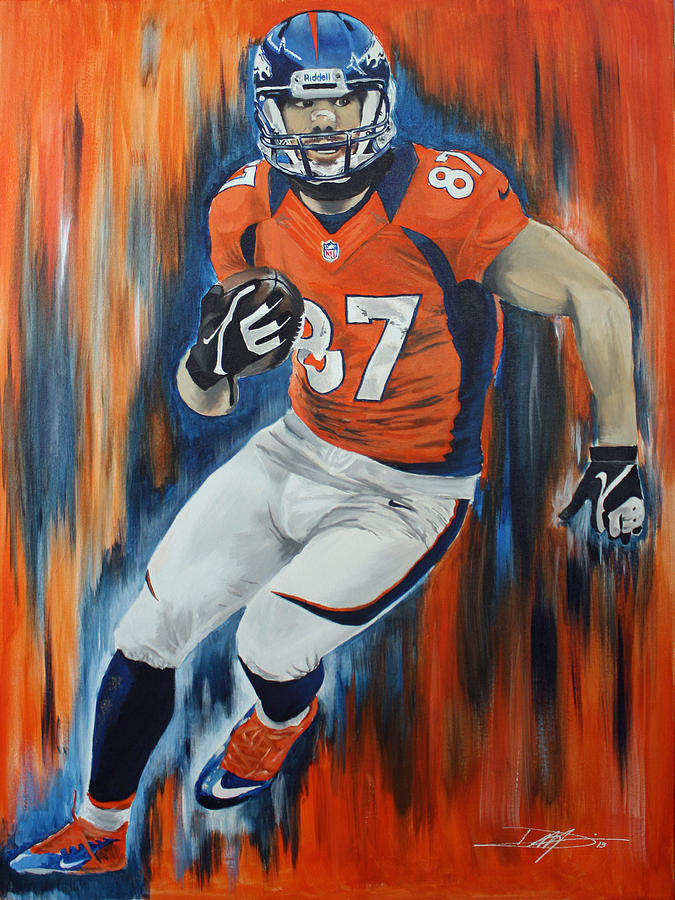 Eric Decker Drawing