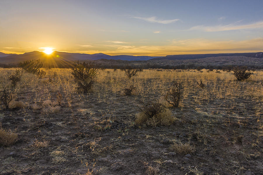 Espanola Sunset - New Mexico Photograph