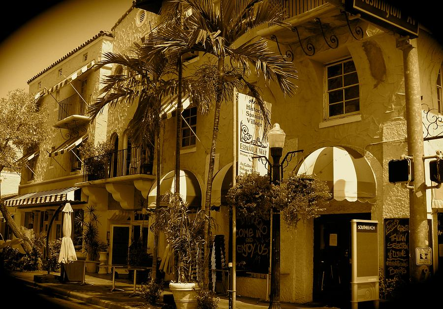 Espanola Way Miami South Beach Photograph