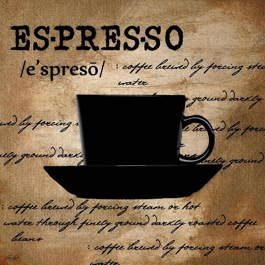 Espresso Madness Digital Art