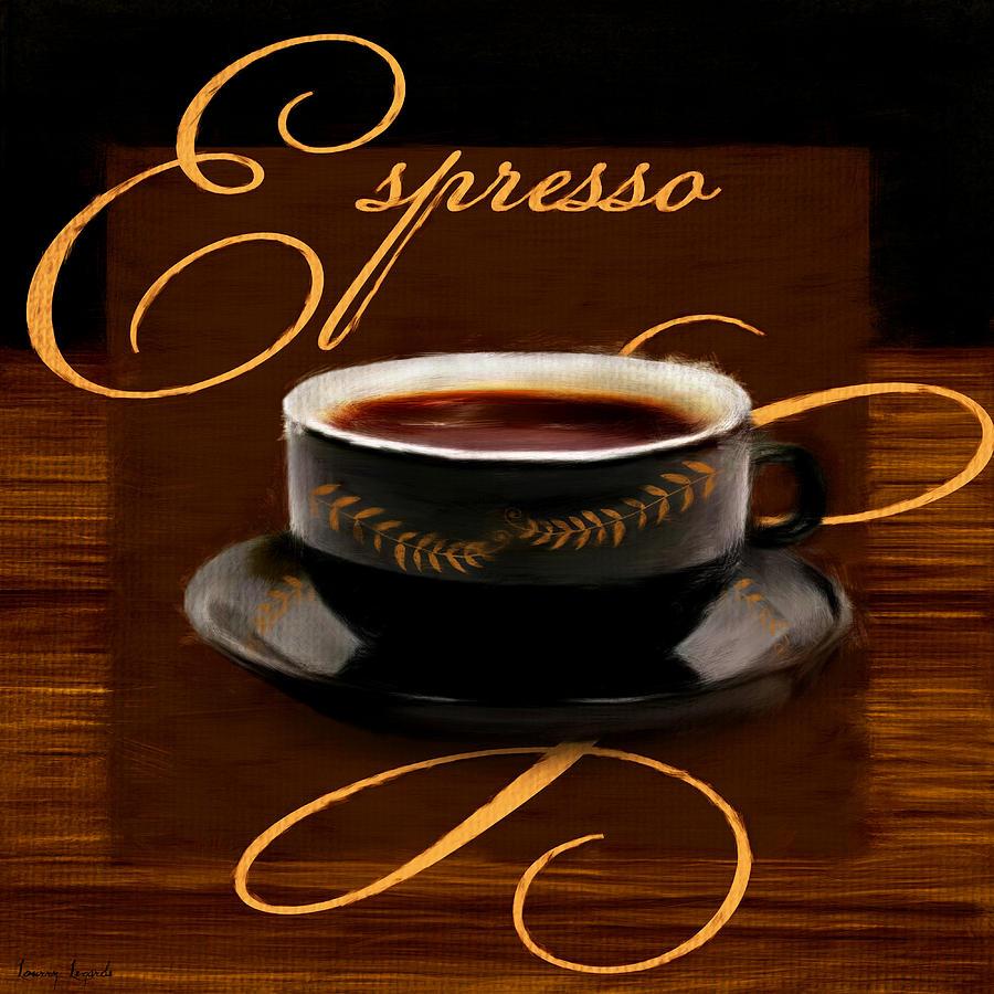 Espresso passion digital art by lourry legarde for Passion coffee