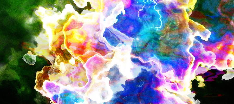 Essence - Abstract Art Mixed Media