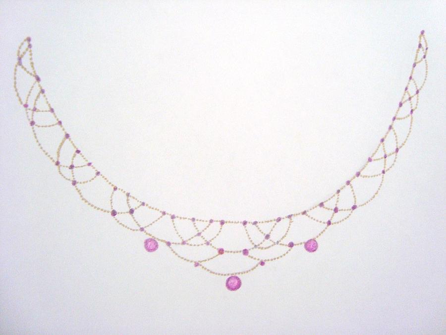 Estate Ruby Necklace Jewelry
