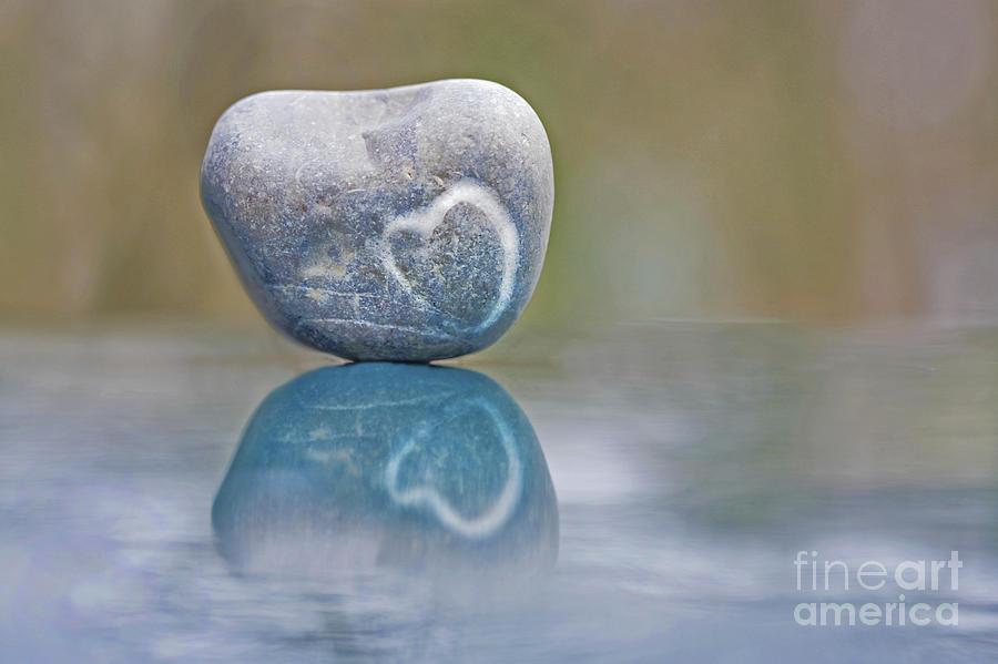 Heart Photograph - Eternal Imprint by Maria Ismanah Schulze-Vorberg