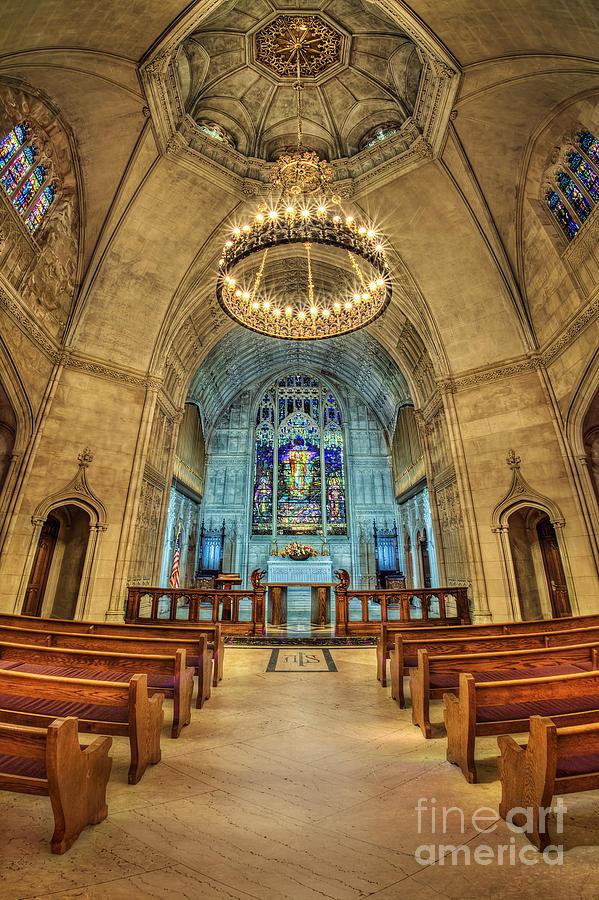 Chapel Photograph - Eternal Search by Evelina Kremsdorf