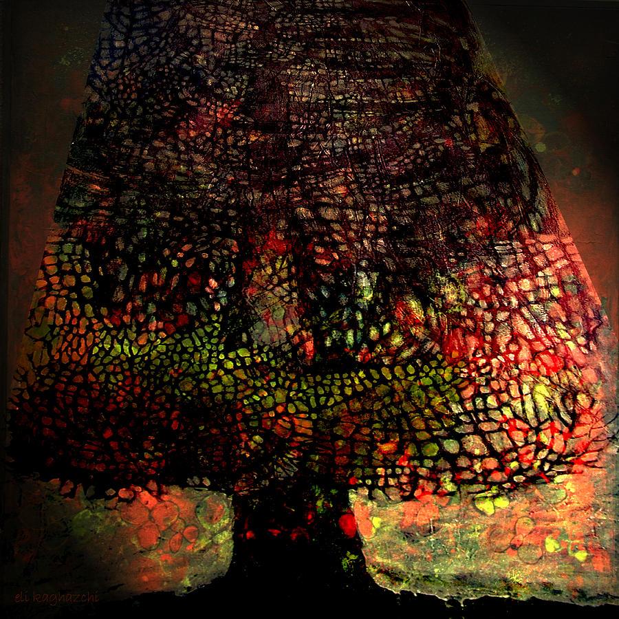 Original Art Mixed Media - Eternity by Eli Kaghazchi