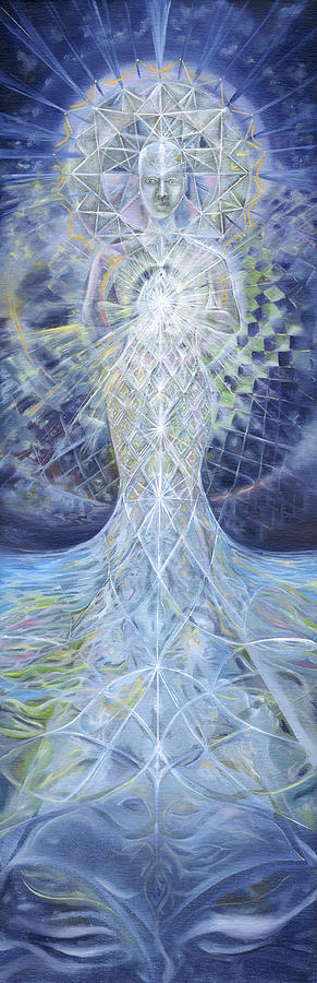 Ethereal Elemental Painting  - Ethereal Elemental Fine Art Print