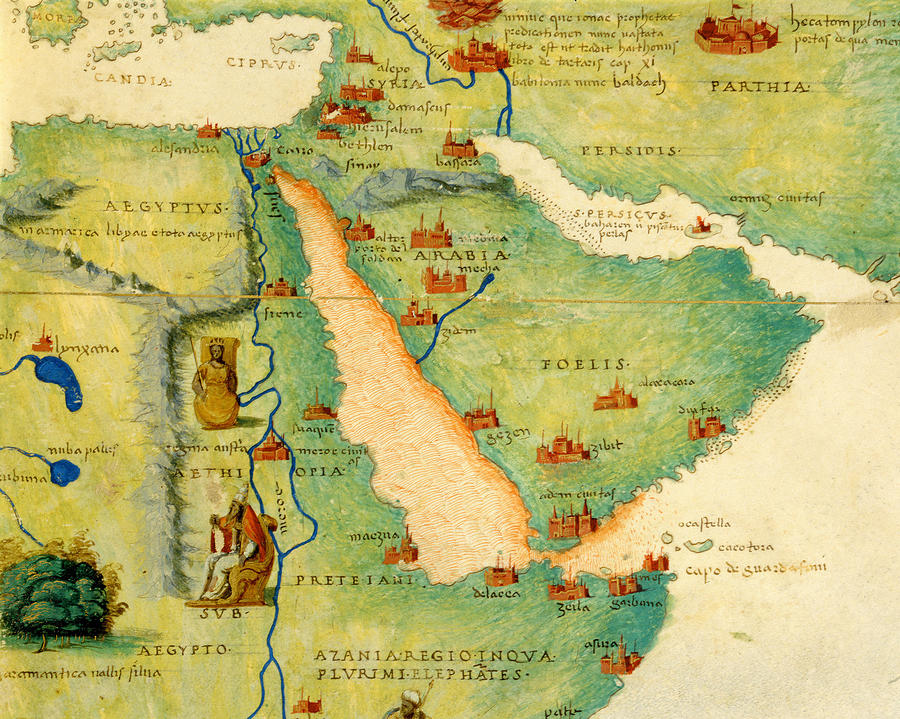 Ethiopia The Red Sea And Saudi Arabia From An Atlas Of The World In 33 Maps