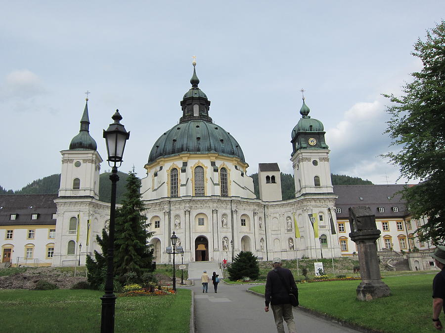 Ettal Abbey Photograph