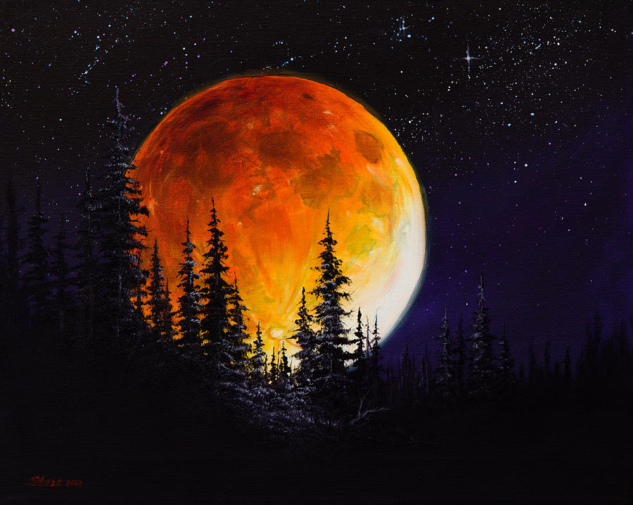 Ettenmoors Moon Painting