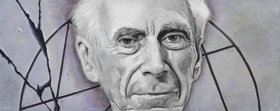 Euclid- Bertrand Russell Painting