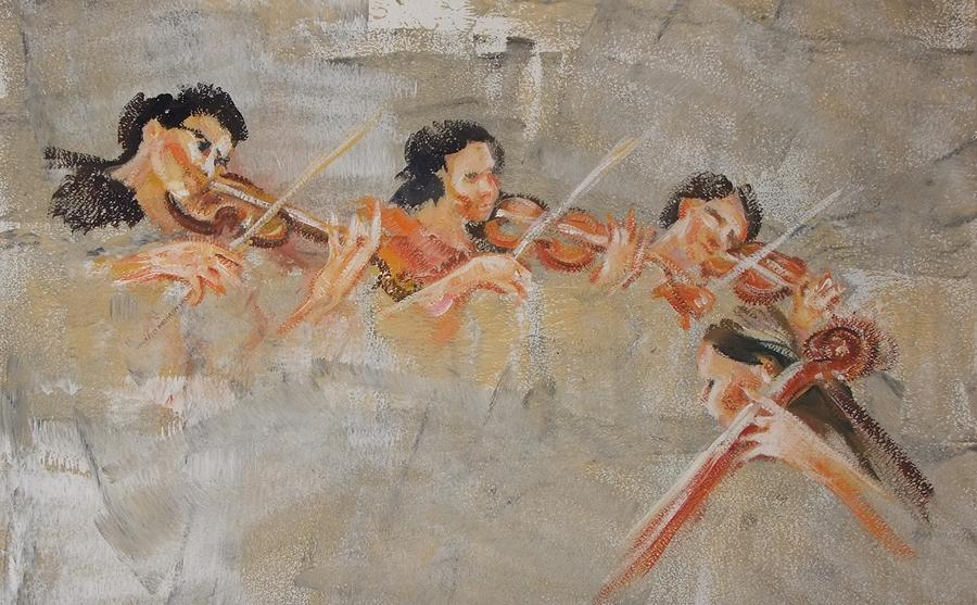 baroque orchestra painting - photo #4
