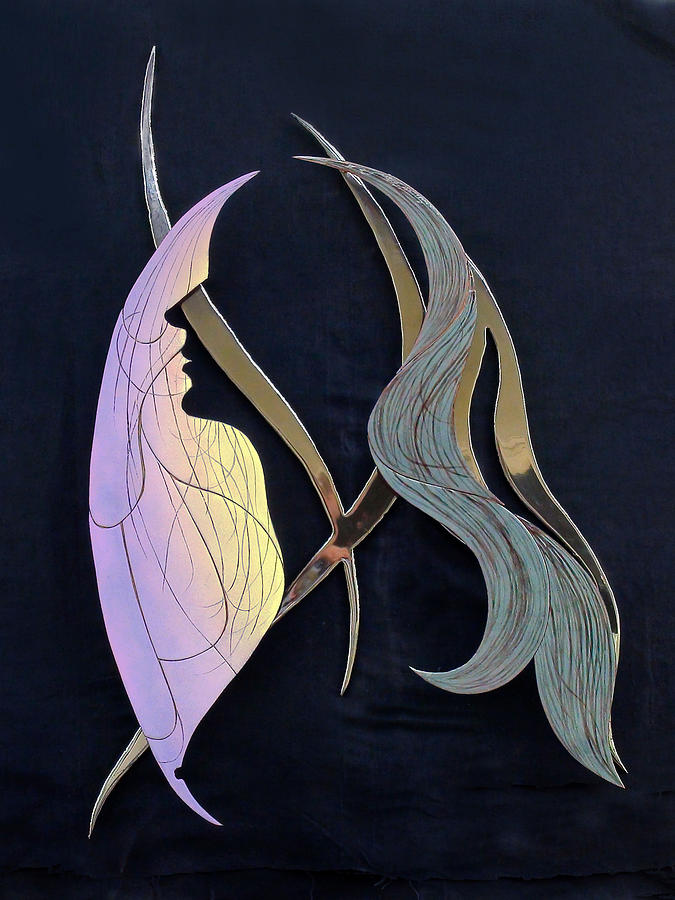 Enamel Sculpture - Eve by Dan Redmon