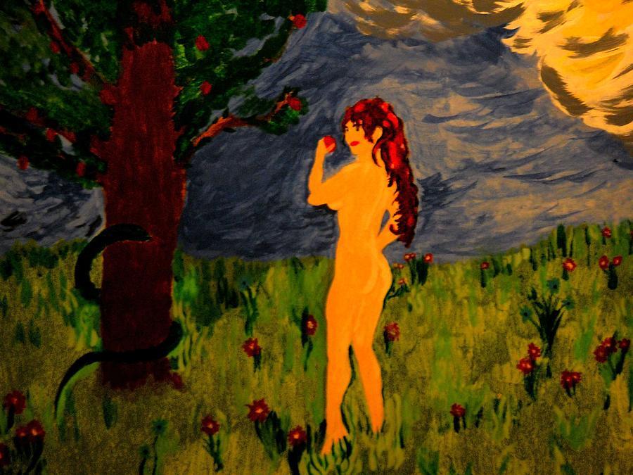 Kate Middleton Painting - Eve by Tony Salvitti