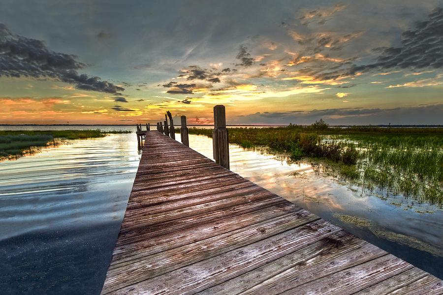 Evening Dock Photograph