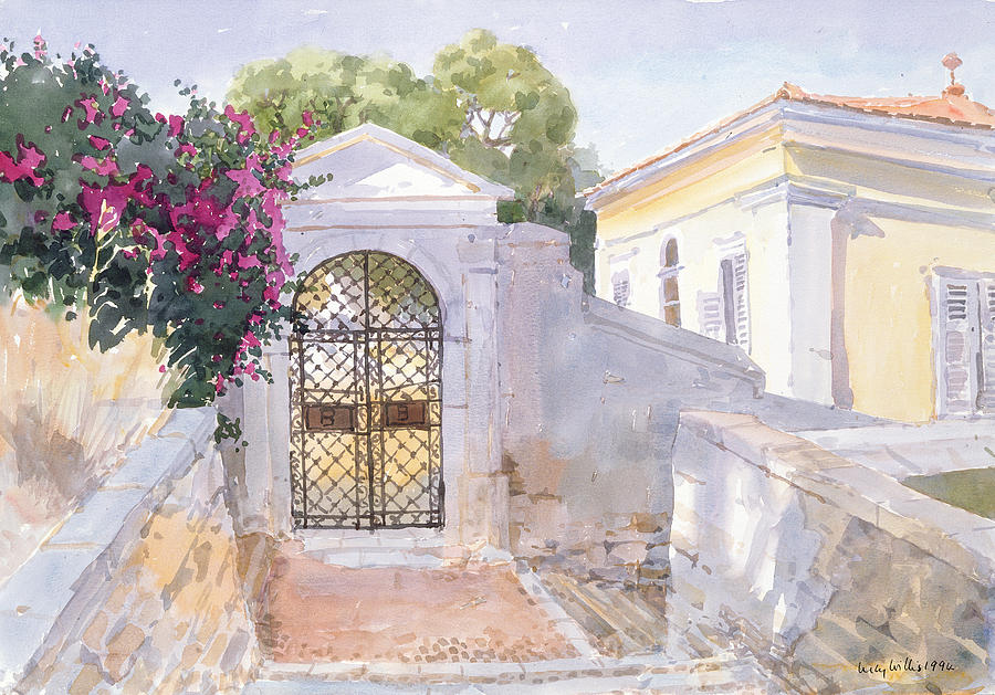 Evening Hroussa Painting