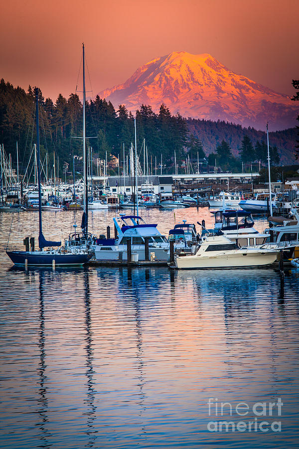Evening In Gig Harbor Photograph