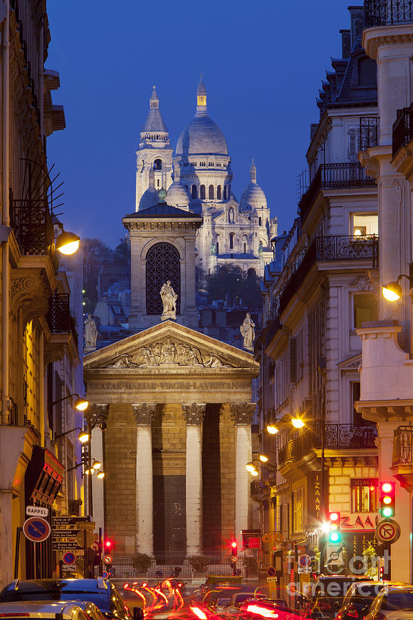 Architectural Photograph - Evening In Paris by Brian Jannsen