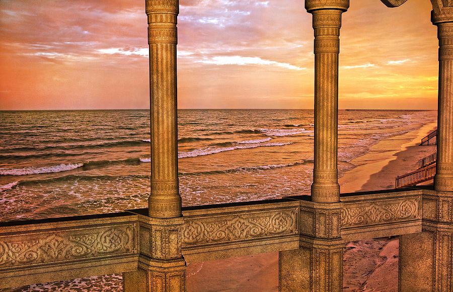Evening Ocean  Digital Art