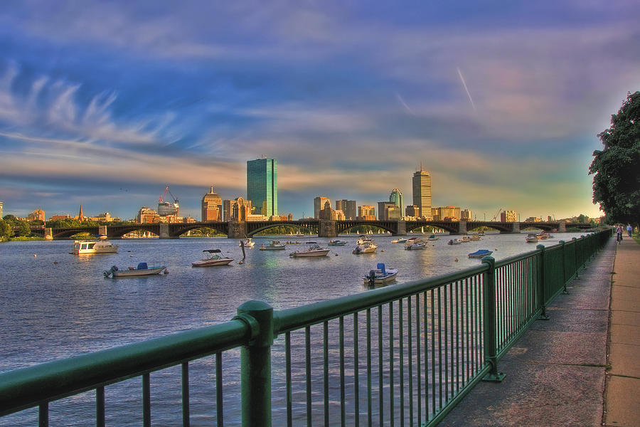 Evening On The Charles Photograph  - Evening On The Charles Fine Art Print