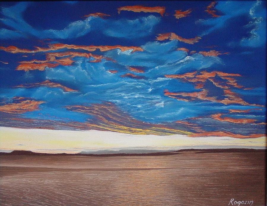 Cape Cod Pastel - Evening Sky by Harvey Rogosin