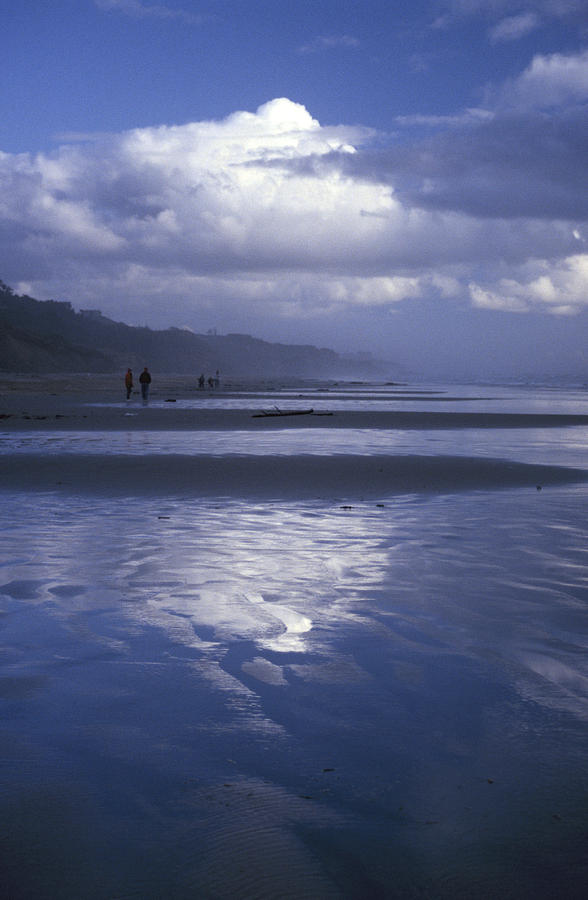 Evening Walk On Agate Beach Photograph  - Evening Walk On Agate Beach Fine Art Print