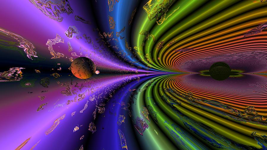 Event Horizon Digital Art