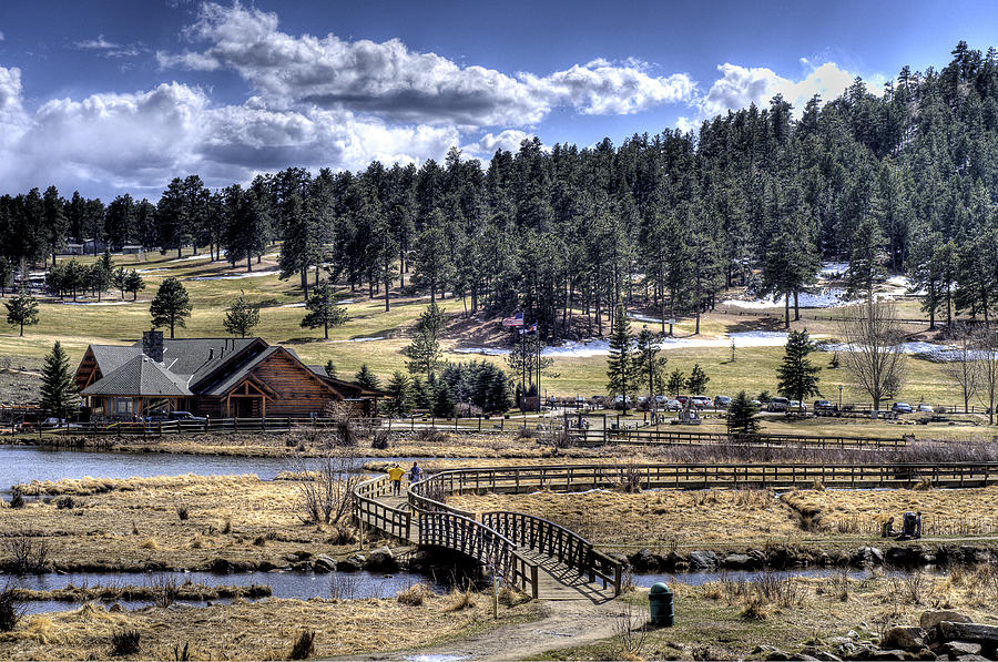 Evergreen Colorado Lakehouse Photograph